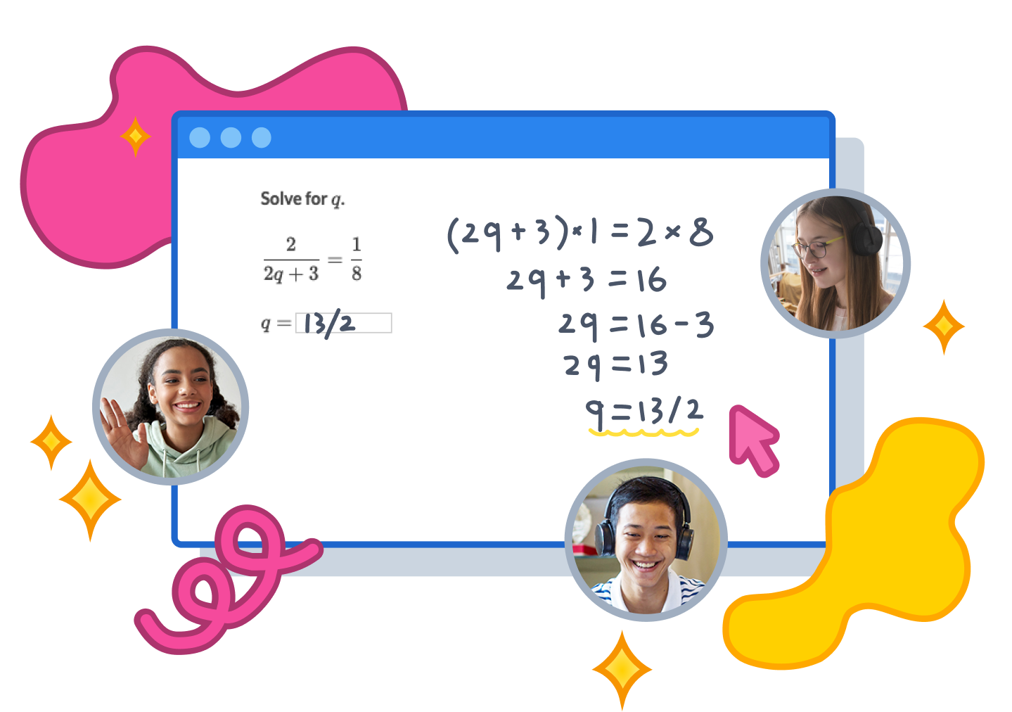 Join Schoolhouse for virtual, small-group tutoring in SAT® prep, math, and more!